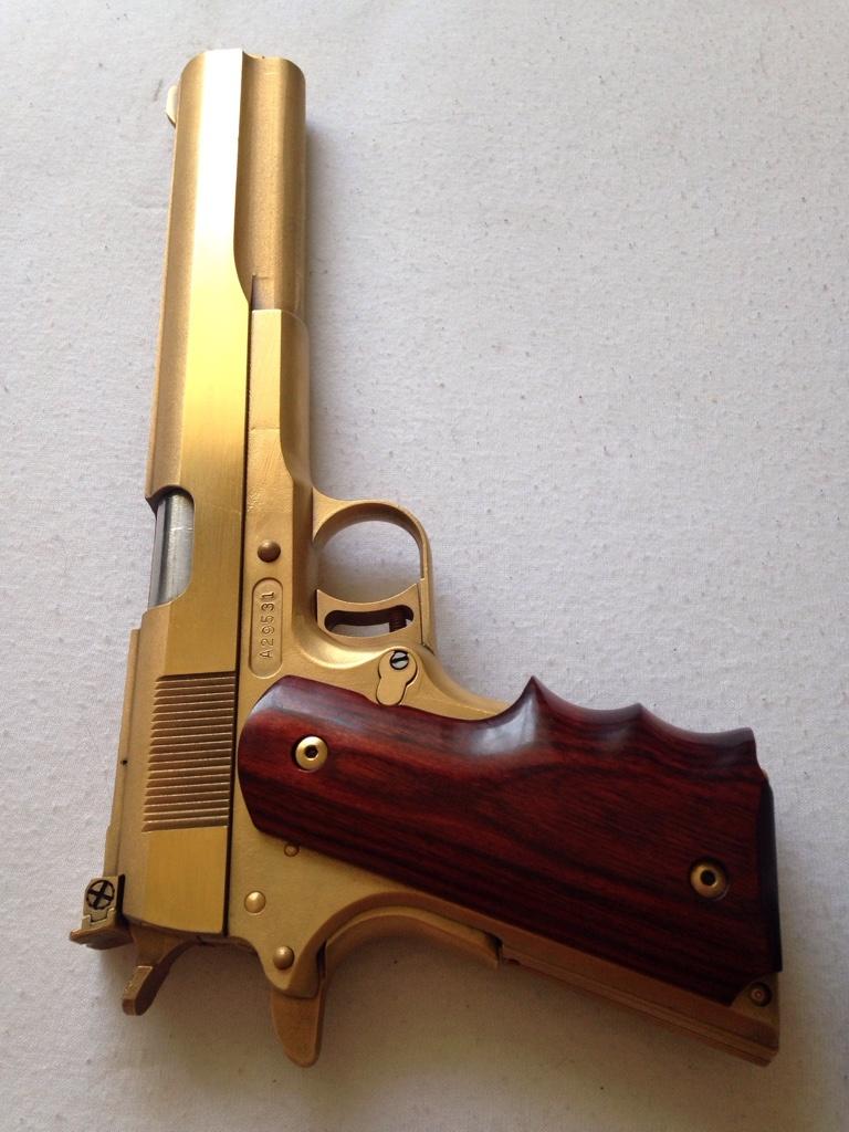 My AMT Longslide 24k Gold Plated - AMT Guns forum